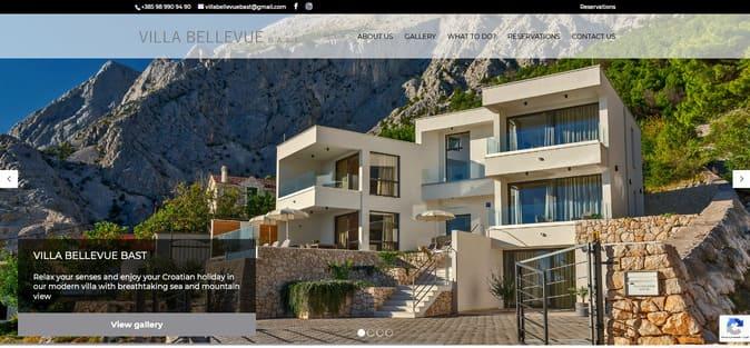 Izrada web stranice Villa